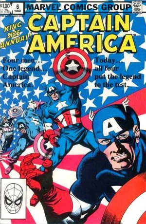 Captain America # 6 Issues V1 - Annuals (1981 - 1993)
