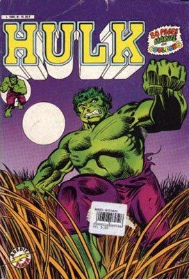 The Incredible Hulk # 6 Kiosque Arédit V3 (1983 - 1985)