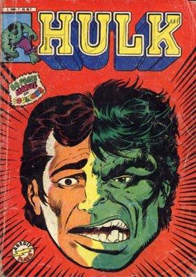 The Incredible Hulk # 7 Kiosque Arédit V3 (1983 - 1985)