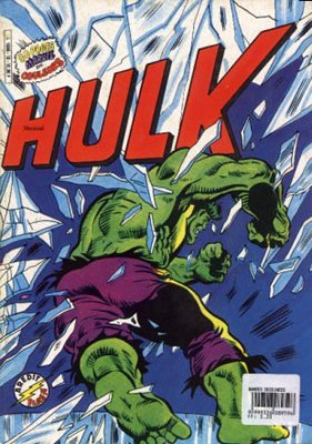 The Incredible Hulk # 10 Kiosque Arédit V3 (1983 - 1985)