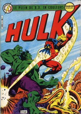 The Incredible Hulk # 11 Kiosque Arédit V3 (1983 - 1985)