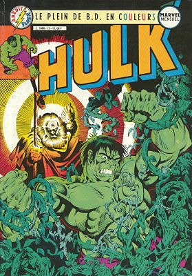 The Incredible Hulk # 12 Kiosque Arédit V3 (1983 - 1985)