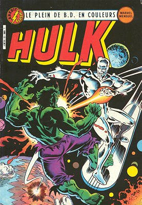 The Incredible Hulk # 13 Kiosque Arédit V3 (1983 - 1985)