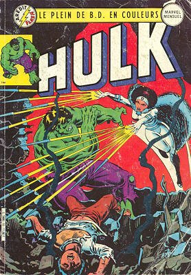 The Incredible Hulk # 15 Kiosque Arédit V3 (1983 - 1985)