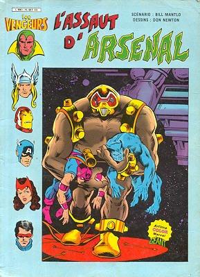 Les Vengeurs - L'Assaut d'Arsenal édition Kiosque