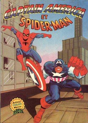 Captain America et Spider-Man édition Kiosque