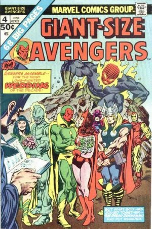 Giant-Size Avengers # 4 Issues V1 (1974 - 1975) - Giant-Size