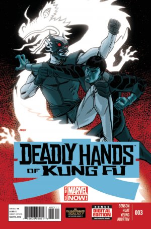 Deadly Hands Of Kung Fu # 3 Issues V2 (2014)