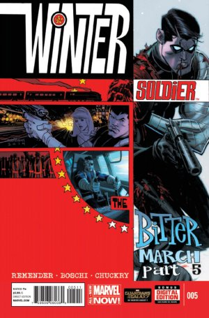 Winter Soldier - The bitter march # 5 Issues
