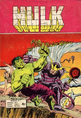 The Incredible Hulk # 2 Kiosque Arédit V1 (1976 - 1983)