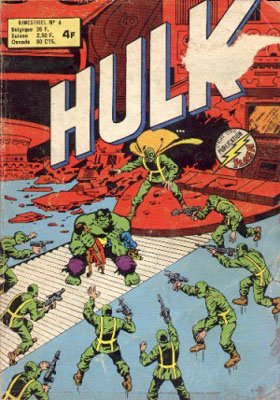 The Incredible Hulk # 6 Kiosque Arédit V1 (1976 - 1983)
