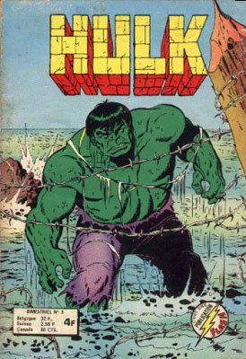 The Incredible Hulk # 8 Kiosque Arédit V1 (1976 - 1983)