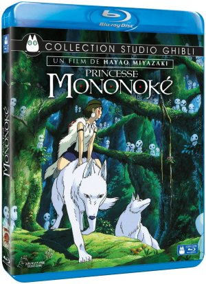 Princesse Mononoke édition Blu-ray