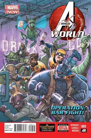 Avengers World # 9 Issues (2014 - 2015)