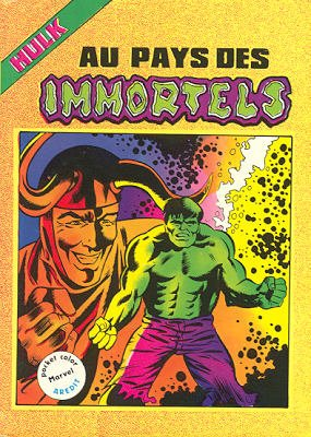 The Incredible Hulk # 3 Kiosque Arédit V2 (1982 - 1984)