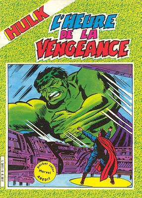 The Incredible Hulk # 6 Kiosque Arédit V2 (1982 - 1984)