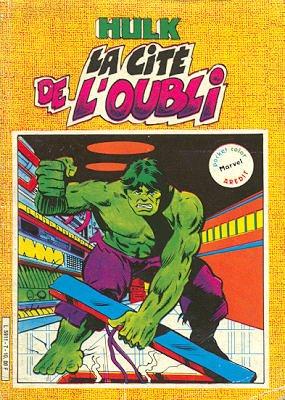 The Incredible Hulk # 7 Kiosque Arédit V2 (1982 - 1984)