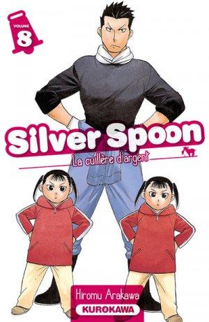 couverture, jaquette Silver Spoon - La Cuillère d'Argent 8  (Kurokawa)