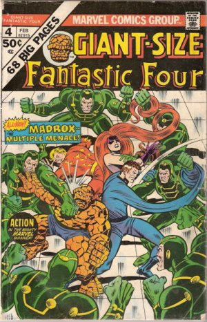 Giant-Size Fantastic Four # 4 Issues (1974 - 1975)