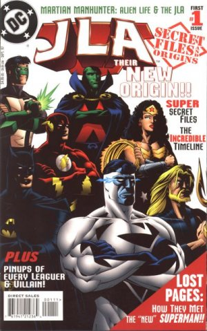 JLA - Secret Files and Origins # 1 Issues