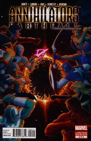 Annihilators - Earthfall # 2 Issues