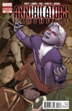 Annihilators - Earthfall # 3 Issues