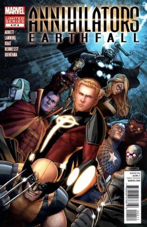 Annihilators - Earthfall # 4 Issues