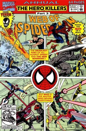 Web of Spider-Man # 8 Issues V1 - Annuals (1985 - 1994)