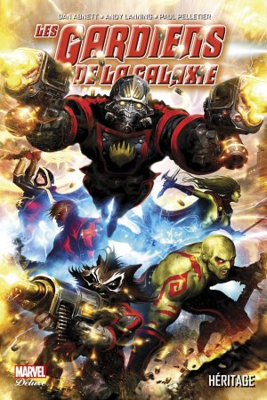 Les Gardiens de la Galaxie édition TPB Hardcover - Marvel Deluxe - Issues V2