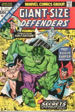 Giant-Size Defenders # 1 Issues (1974 - 1975)