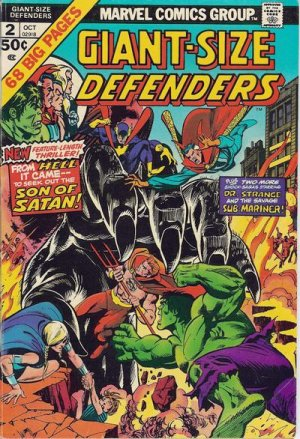 Giant-Size Defenders # 2 Issues (1974 - 1975)