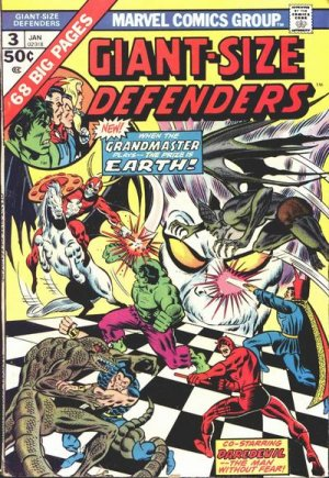 Giant-Size Defenders # 3 Issues (1974 - 1975)