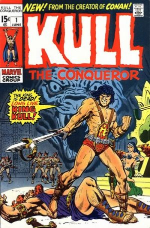 Kull The Conqueror édition Issues V1 (1971 - 1973)