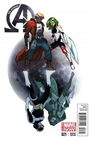 New Avengers # 21