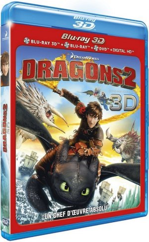 Dragons 2 édition Combo 3D