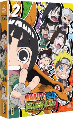 couverture, jaquette Naruto SD – Rock Lee les péripéties d'un ninja en herbe 2  (Kana home video)