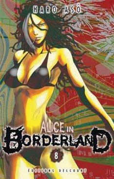 couverture, jaquette Alice in Borderland 8  (Shogakukan) Manga
