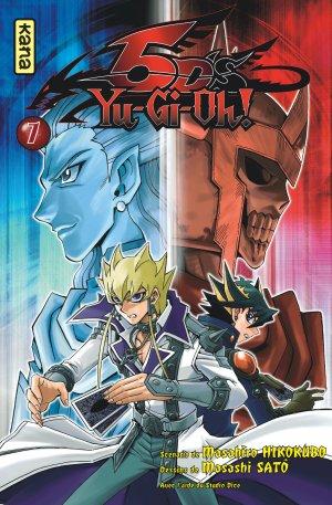 couverture, jaquette Yu-Gi-Oh! 5D's 7  (kana) Manga