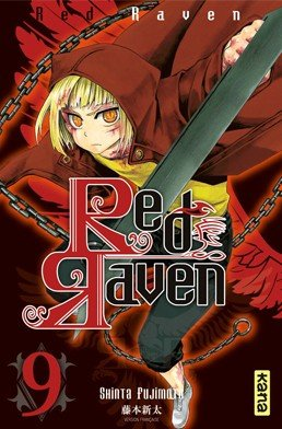 couverture, jaquette Red Raven 9  (kana)