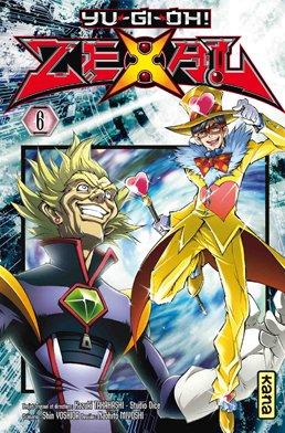 couverture, jaquette Yu-Gi-Oh! Zexal 6  (kana) Manga