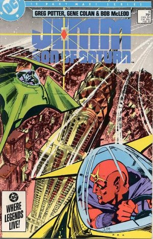 Jemm, Son of Saturn # 6 Issues V1 (1984 - 1985)
