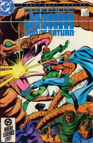 Jemm, Son of Saturn # 8 Issues V1 (1984 - 1985)