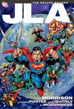JLA - Terre 2 # 4 TPB Hardcover (cartonnée)
