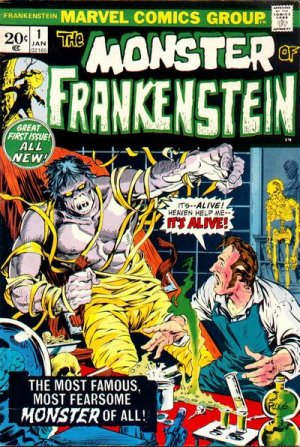 Frankenstein # 1 Issues V1 (1973 - 1975)