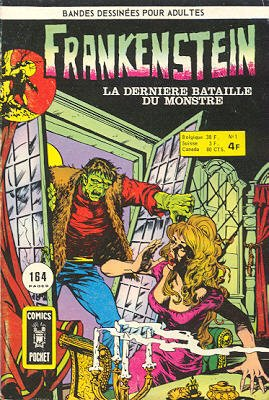 Frankenstein édition Kiosque