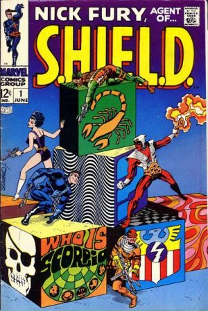 Nick Fury # 1 Issues V1 (1968-1971) - Nick Fury, Agent of SHIELD