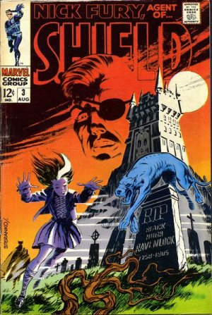 Nick Fury # 3 Issues V1 (1968-1971) - Nick Fury, Agent of SHIELD