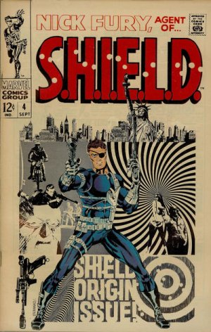 Nick Fury # 4 Issues V1 (1968-1971) - Nick Fury, Agent of SHIELD