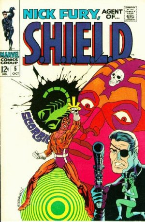 Nick Fury # 5 Issues V1 (1968-1971) - Nick Fury, Agent of SHIELD