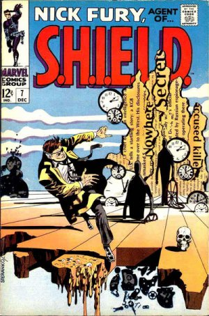 Nick Fury # 7 Issues V1 (1968-1971) - Nick Fury, Agent of SHIELD